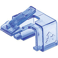 Intellinet RJ45 Repair Clip, For RJ45 modular plug, Transparent Blue, 50 pack, 50 pc(s)
