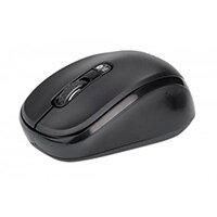 Manhattan Dual-Mode Mouse, Bluetooth 4.0 and 2.4 GHz Wireless, 800/1200/1600 dpi, Three Buttons With Scroll Wheel, Black, Box, Ambidextrous, Optical, RF Wireless+Bluetooth, 1600 DPI, Black