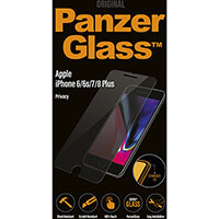 PanzerGlass Apple iPhone 6/6s/7/8 Plus Standard Fit Privacy, Apple, iPhone 6/6s/7/8 Plus, Scratch resistant, Transparent, 1 pc(s)