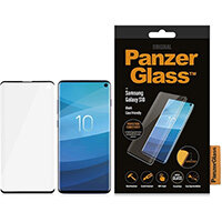 PanzerGlass Samsung Galaxy S10 Curved Edges, Clear screen protector, Samsung, Galaxy S10, Scratch resistant, Transparent, 1 pc(s)