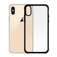 "PanzerGlass Apple iPhone X/Xs Cover Black Frame (HoneyComb), Cover, Apple, iPhone X/Xs, 14.7 cm (5.8""), Transparent"