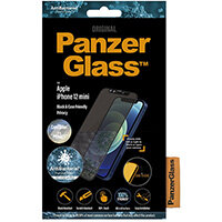 PanzerGlass Apple iPhone 12 mini Edge-to-Edge Privacy Camslider Anti-Bacterial, Apple, iPhone 12 mini, Scratch resistant, Anti-bacterial, Transparent, 1 pc(s)