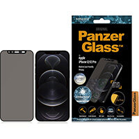 PanzerGlass Apple iPhone 12/12 Pro Edge-to-Edge Privacy Camslider Anti-Bacterial, Apple, iPhone 12/12 Pro, Scratch resistant, Anti-bacterial, Transparent, 1 pc(s)