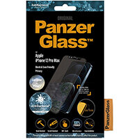 PanzerGlass Apple iPhone 12 Pro Max Edge-to-Edge Privacy Camslider Anti-Bacterial, Apple, iPhone 12 Pro Max, Scratch resistant, Anti-bacterial, Transparent, 1 pc(s)