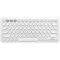 Logitech K380, Mini, Bluetooth, QWERTY, White