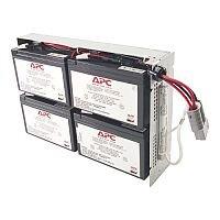 APC Battery Unit 336 mAh 12 V DC Lead Acid Maintenance-free Hot Swappable 3 Year Minimum Battery Life 5 Year Maximum Battery Life