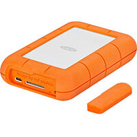 LaCie Rugged RAID Pro external hard drive 4000 GB Grey, Orange