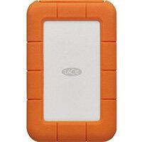 LaCie Rugged Secure external hard drive 2000 GB Orange, White