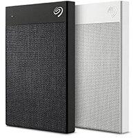 Seagate Backup Plus Ultra Touch, 1000 GB, 2.0/3.2 Gen 1 (3.1 Gen 1), White