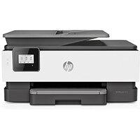 HP OfficeJet 8014, Thermal inkjet, Colour printing, 4800 x 1200 DPI, A4, Direct printing, Black, White