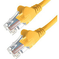DP Building Systems 28-0010Y networking cable Yellow 1 m Cat5e U/UTP (UTP)