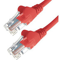 DP Building Systems 31-0003R networking cable Red 0.3 m Cat6 U/UTP (UTP)