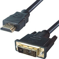 DP Building Systems 26-1685 video cable adapter 3 m HDMI Type A (Standard) DVI-D Black