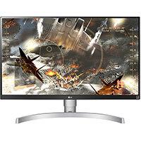 "LG 27UL650-W, 68.6 cm (27""), 3840 x 2160 pixels, 4K Ultra HD, LED, 5 ms, Silver"