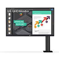 """LG 27QN880-B, 68.6 cm (27""""), 2560 x 1440 pixels, Quad HD, LCD, 5 ms, Black"""