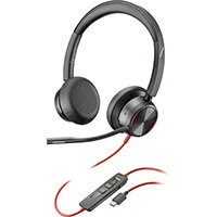 POLY Blackwire 8225 Headset Head-band USB Type-C Black