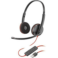 POLY Blackwire C3220 Headset Head-band USB Type-A Black