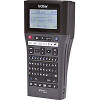Brother PT-H500, QWERTY, TZe, 180 x 180 DPI, 30 mm/sec, Wired, Black