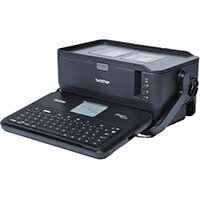 Brother PT-D800W, QWERTY, TZe, Thermal transfer, 360 x 360 DPI, 60 mm/sec, Wired & Wireless