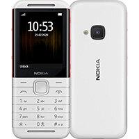 "Nokia 5310 6.1 cm (2.4"") 88.2 g Red, White Entry-level phone"