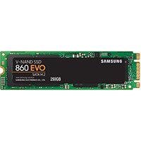 Samsung 860 EVO, 250 GB, M.2, 550 MB/s, 6 Gbit/s