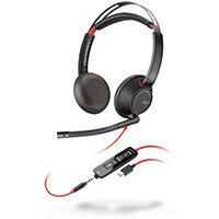 POLY Blackwire 5220 Headset Head-band USB Type-C Black