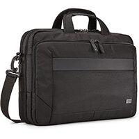 "Case Logic Notion NOTIA-116 Black, Briefcase, 39.6 cm (15.6""), Shoulder strap, 700 g"