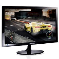 Samsung S22A330NHU Computer Monitor - 22-inch - 1920x1080 Full HD, 16:9 - LED LCD Display - 60 Hz Refresh Rate - Colour: Black