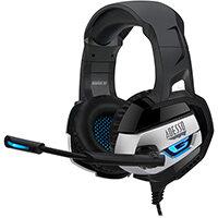 Adesso Stereo USB Gaming Headphone/Headset with Microphone, Headset, Head-band, Gaming, Black, Binaural, Rotary