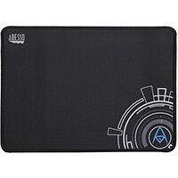 Adesso TruForm P101 - 12 x 8 Inches Gaming Mouse Pad, Black, Image, Microfibre, Rubber, Non-slip base, Gaming mouse pad