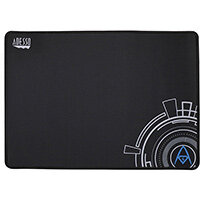 Adesso TruForm P102 - 16 x 12 Inches Gaming Mouse Pad, Black, Image, Microfibre, Rubber, Non-slip base, Gaming mouse pad
