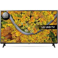 "LG 55UP75006LF, 139.7 cm (55""), 3840 x 2160 pixels, LED, Smart TV, Wi-Fi, Black"