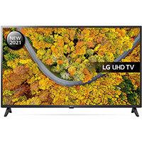 "LG 43UP75006LF, 109.2 cm (43""), 3840 x 2160 pixels, LED, Smart TV, Wi-Fi, Black"