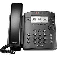 POLY 311 IP phone Black 6 lines LCD