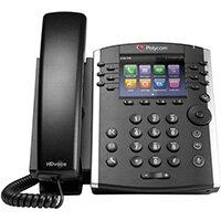 POLY 411 IP phone Black 12 lines TFT