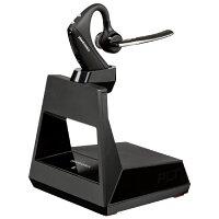 Plantronics 5200 Office Wireless Headset In-Ear, Ear-Hook, - Boom Microphone, Bluetooth 5.0, 7 Hours Battery Life, 75 Metre Range - Portable Earpiece - Colour: Black