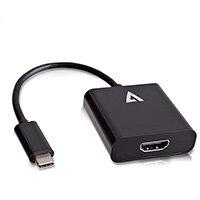 V7 USB-C male to HDMI female Adapter Black, USB Type-C, HDMI 1.4, Black, China, Male/Female, CE, FCC