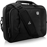 """V7 13"""" Professional FrontLoading Laptop Case, Briefcase, 33.8 cm (13.3""""), Shoulder strap, 507 g"""