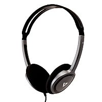 V7 Wired Over-the-head Stereo Headphone - Supra-aural - 32 Ohm - 1.80 m Cable Audio Jack 3.5mm - Black - HA310-2EP