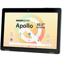 "Hannspree HANNSpad Apollo, 25.6 cm (10.1""), 1280 x 800 pixels, 32 GB, 3 GB, Android 10, Black"