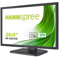 """Hannspree HP246PJB, 61 cm (24""""), 1920 x 1200 pixels, Full HD, LED, 5 ms, Black"""