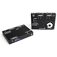 StarTech.com Long Range VGA over Cat5 Video Extender 300m / 950 ft – 1920x1080, VGA, 1920 x 1080 pixels, Black, 300 m, 23 x 140 x 23 mm, 88 mm