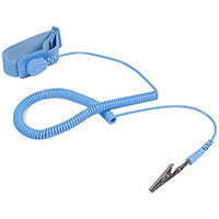 StarTech.com ESD Anti Static Wrist Strap Band with Grounding Wire, Blue, 180 cm