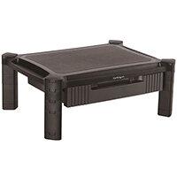 "StarTech.com Monitor Riser - Drawer - Height Adjustable, Freestanding, 10 kg, 33 cm (13""), 81.3 cm (32""), Height adjustment, Black"