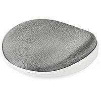 StarTech.com Wrist Rest - Ergonomic - Sliding - Silver, Foam, Mesh, Plastic, Silver, White, 142 x 170 x 30 mm, 56 g, 170 mm, 142 mm