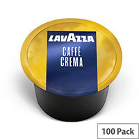 Lavazza Blue Caffe Crema Dolce Coffee Capsules For Lavazza Blue Capsule System Coffee Machines - Pack of 100 Coffee Pods