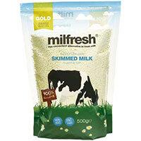 Milfresh Granulated Skimmed Milk For LB 2600 Coffee Machine 10 x 500g Packs