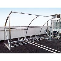 Bike Shelter Suitable For Up To 10 Bicycles