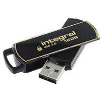 Integral Secure 360 Encrypted USB 3.0 16GB Flash Drive INFD16GB360SEC3.0