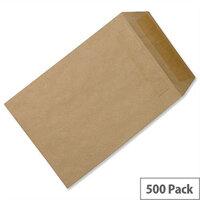 C5 Manilla Envelopes Pocket Self Seal 90gsm Pack 500 5 Star